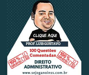 Curso Direito Administrativo - 100 questões comentadas em pdf