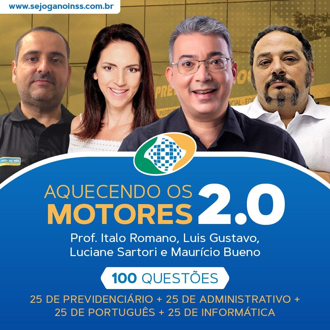 Aquecendo os Motores 2.0 Português, Dir Adm, Dir Previ e Informática