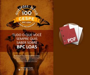 BPC e LOAS  - 100 Questões Estilo CESPE