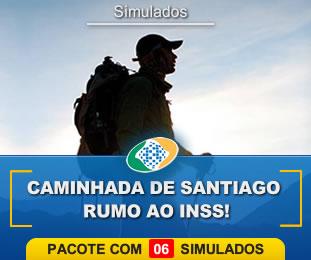 Caminhada de Santiago Rumo ao INSS Pacote com 6
