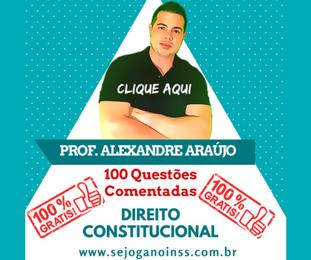 Curso Direito Constitucional - 100 questões comentadas em pdf