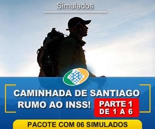 Caminhada de Santiago Rumo ao INSS Pacote com 6 Parte I