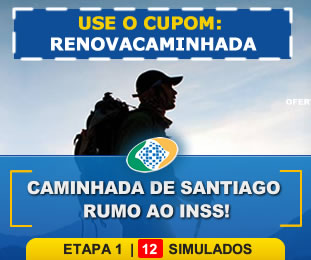 Caminhada de Santiago Rumo ao INSS Pacote com 12