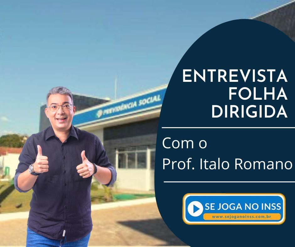 Folha Dirigida: Entrevista com o Prof. Italo Romano